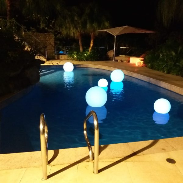 LED Ball floating
