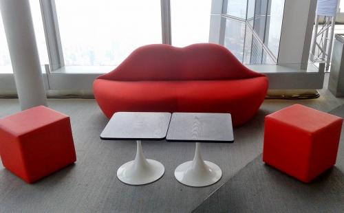 Lip-Sofa