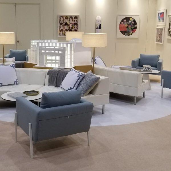 Srpentine sofa