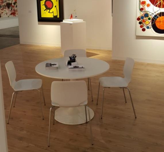 Babila chair with Fower table 2