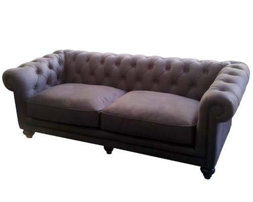 Chesterfield Sofa Grey