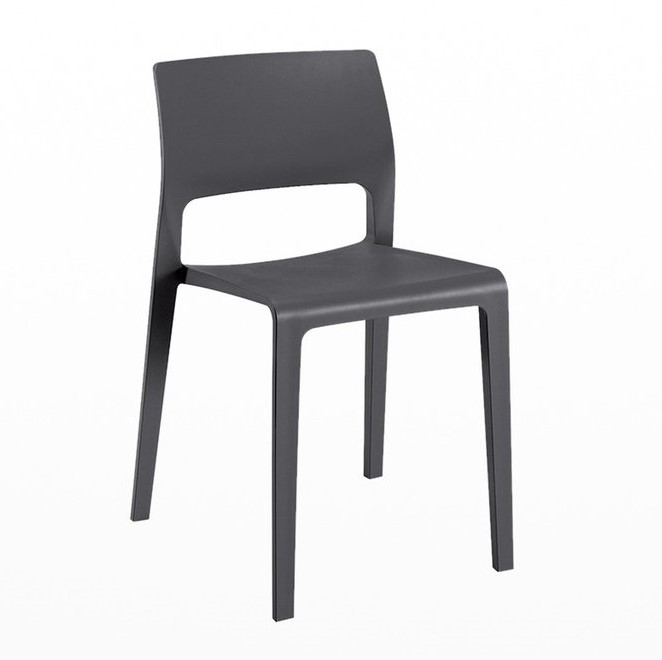 Juno chair, arper, Grey