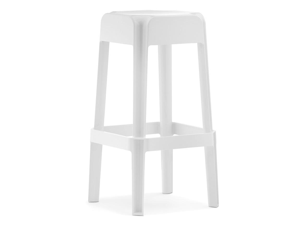 Rubik stool, Pedrali, white