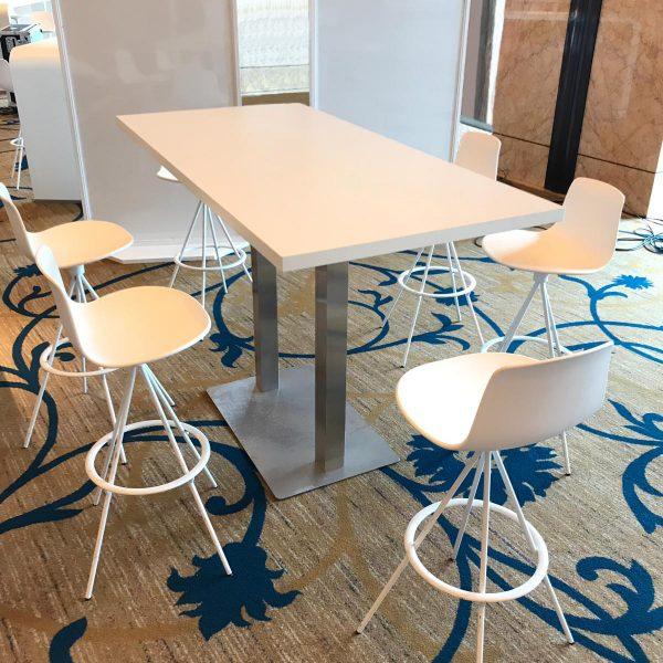 Polar High table White