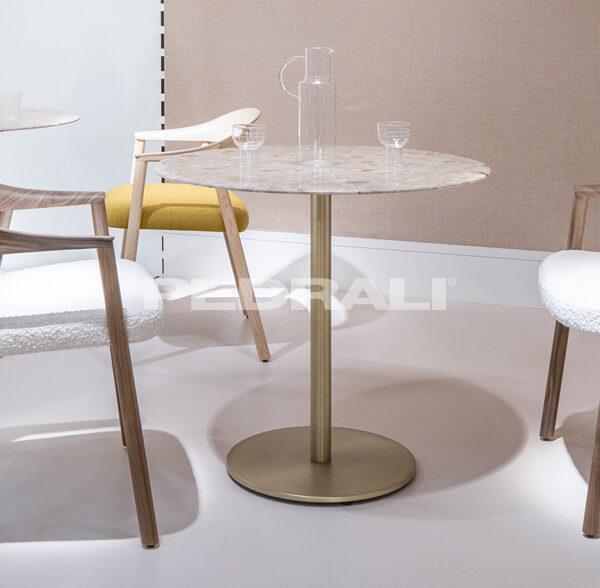 Inox marble table